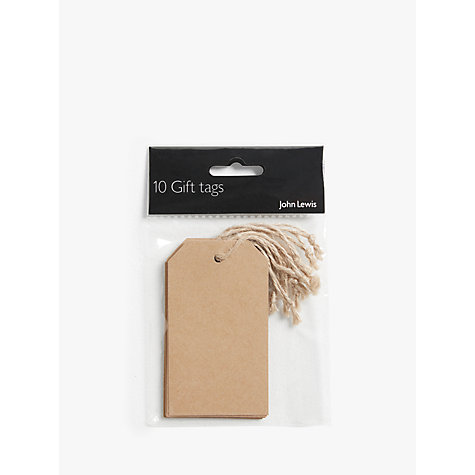 Buy John Lewis Gift Tags, Set of 10 Online at johnlewis.com