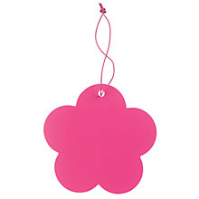 Buy John Lewis Flower Gift Tags, Pink, Pack of 5 Online at johnlewis.com