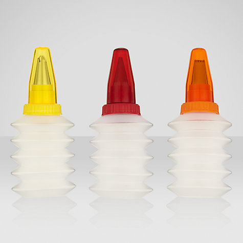Buy John Lewis Squeeze Decorating / Icing Bottles x3 Online at johnlewis.com