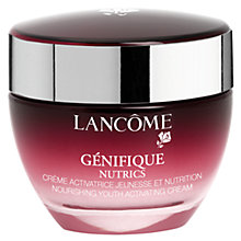 Buy Lancôme Génifique Nutrics Cream Online at johnlewis.com