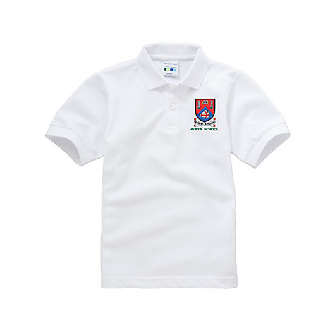 Buy Albyn School Unisex Sports Polo Shirt Online at johnlewis.com
