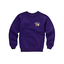 Buy Arduthie Primary School Unisex Sweatshirt, Purple Online at johnlewis.com