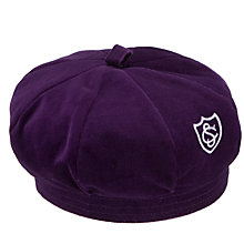 Buy Glendower Preparatory School Girls' Beret, Purple Online at johnlewis.com