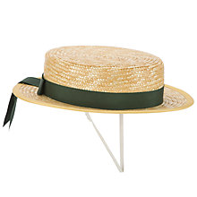 Buy Connaught House School Girls' Boater Hat Online at johnlewis.com