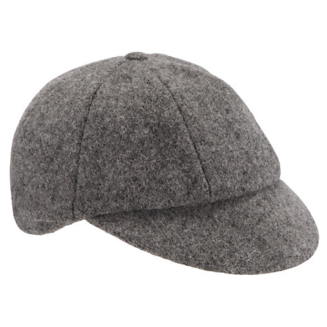 Buy School Boys' Cap, Grey Online at johnlewis.com