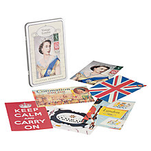 Buy Cavallini & Co Vintage London Postcards in a Tin, Set of 12 Online at johnlewis.com
