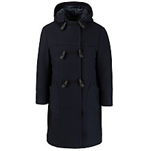Buy School Double Breasted Unisex Duffle Coat, Navy Online at johnlewis.com
