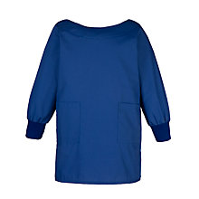 Buy School Unisex Smock, Royal Blue Online at johnlewis.com