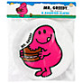 Mr Men Mr Greedy Party Plates, Set of 8