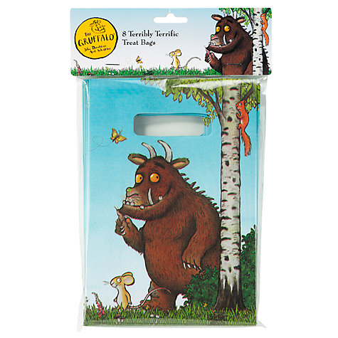 Buy Gruffalo Loot Bags, Set of 8 Online at johnlewis.com