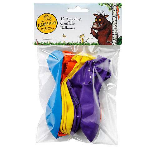 Buy Gruffalo Party Balloons, Set of 12 Online at johnlewis.com