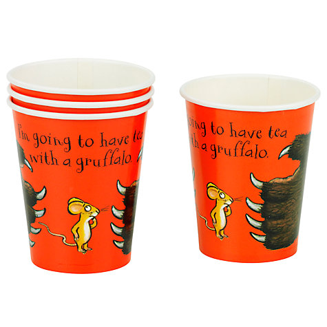Buy Gruffalo Party Cups, Set of 8 Online at johnlewis.com