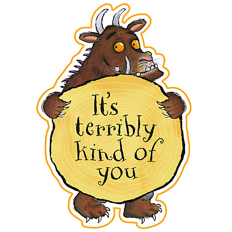 Buy Gruffalo Thank You Cards Online at johnlewis.com