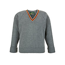 Buy Eltham College Junior and Senior Boys' Pullover, Grey Online at johnlewis.com