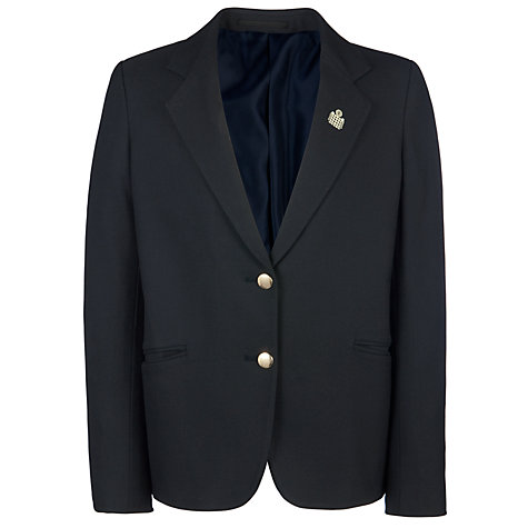 Buy Emanuel School Girls' Blazer, Navy Online at johnlewis.com