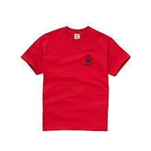 Buy Emanuel School Unisex Rodney/Wellington Sports T-Shirt, Red Online at johnlewis.com