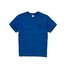 Buy Emanuel School Unisex Clyde/Howe Sports T-Shirt, Royal Blue Online at johnlewis.com