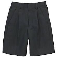 Buy Boys' School Bermuda Shorts, Grey Online at johnlewis.com