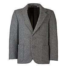 Buy Boys' School Wool Blazer, Grey Online at johnlewis.com
