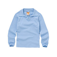 Buy Heath House Preparatory School Unisex Long Sleeve Shirt, Sky Blue Online at johnlewis.com