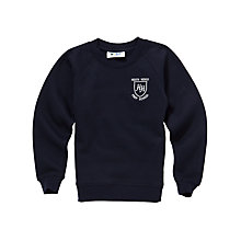 Buy Heath House Preparatory School Unisex Sports Sweatshirt, Navy Online at johnlewis.com