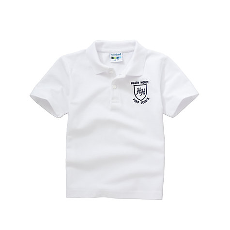Buy Heath House Preparatory School Unisex Sports Polo Shirt Online at johnlewis.com