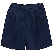 Buy Hornsby House School Boys' Summer Shorts, Navy Online at johnlewis.com