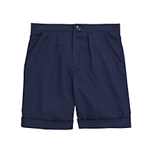 Buy The Roche School Boys' Summer Bermuda Shorts, Navy Online at johnlewis.com