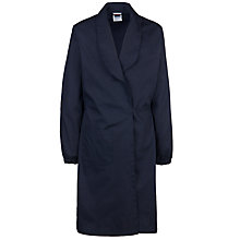 Buy School Cotton Science Overall, Navy Online at johnlewis.com