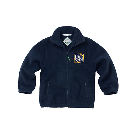 Buy Dagfa School Nottingham, Nursery Unisex Fleece, Navy Online at johnlewis.com