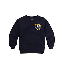 Buy Dagfa School Nottingham Nursery, Infant And Junior Unisex Sweatshirt Online at johnlewis.com