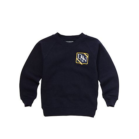 Buy Dagfa School Nottingham Nursery, Infant And Junior Unisex Sweatshirt, Navy Online at johnlewis.com