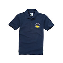 Buy Mapperley Plains Primary School Unisex Polo Shirt, Navy Online at johnlewis.com