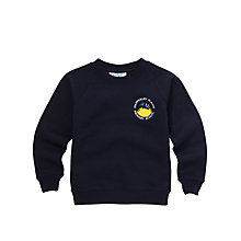 Buy Mapperley Plains Primary School Unisex Sweatshirt, Navy Online at johnlewis.com