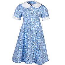 Buy Girls' School Summer Dress, Blue/White Online at johnlewis.com