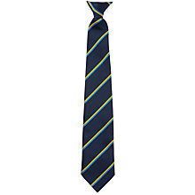 Buy The National Church of England Academy, Years 7-10 Unisex Tie, Navy Multi Online at johnlewis.com