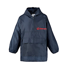 Buy Thomas's Unisex Sports Cagoule, Navy Online at johnlewis.com