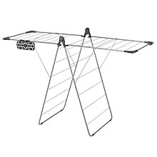 Buy John Lewis X-Wing Airer, Silver Online at johnlewis.com