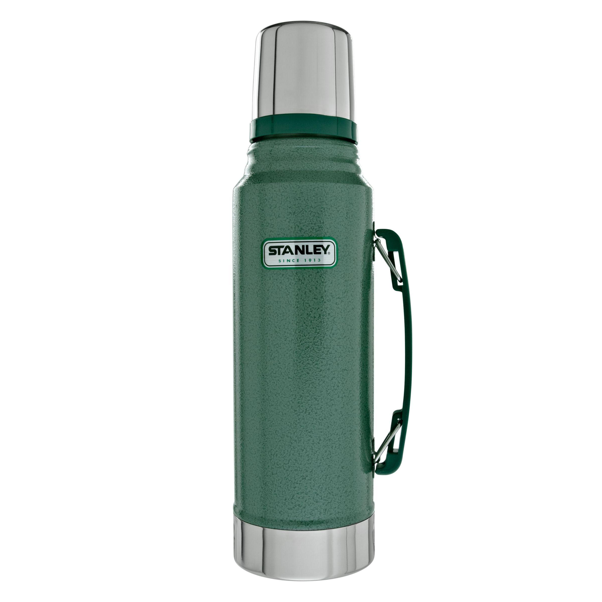 Stanley Stanley Classic Vacuum Flask, Hammertone Green, 1L