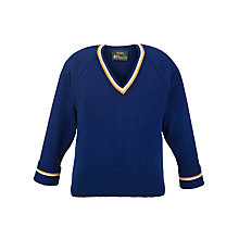 Buy Dagfa School Nottingham Infant And Junior Unisex V-Neck Pullover, Royal Blue Online at johnlewis.com