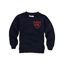 Buy Phoenix Infant and Nursery School Unisex Sweatshirt, Navy Online at johnlewis.com
