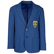 Buy Plumtree School All Years Boys' Blazer, Royal Blue Online at johnlewis.com
