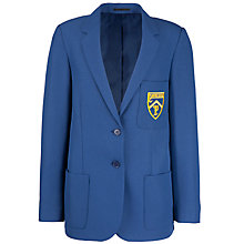 Buy Plumtree School All Years Girls' Blazer, Royal Blue Online at johnlewis.com