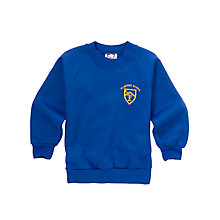 Buy Plumtree Infant and Junior School Unisex Sports Sweatshirt, Royal Blue Online at johnlewis.com