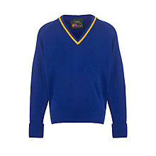 Buy Plumtree School All Years Unisex Pullover, Royal Blue Online at johnlewis.com