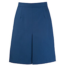 Buy School Inverted Pleat Skirt, Royal Blue Online at johnlewis.com