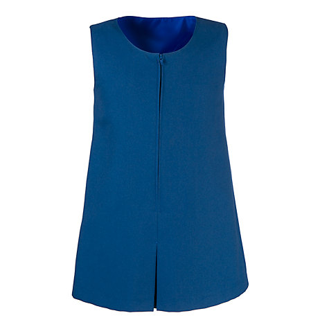 Buy Dagfa School Nottingham Infant Girl's Tunic, Royal Blue Online at johnlewis.com