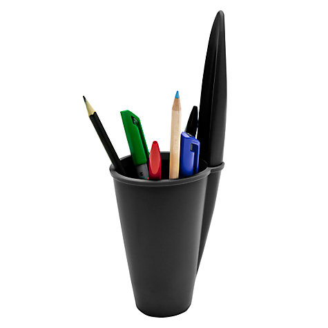 Buy j-me Lid Pen Pot, Black Online at johnlewis.com
