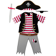 Buy John Lewis Pirate Dressing-Up Costume Online at johnlewis.com