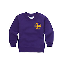 Buy The Chorister School Nursery And Pre Prep Unisex Sweatshirt, Purple Online at johnlewis.com